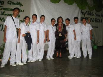 Some Chapter Officers of the PNA General Santos City