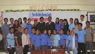 Students and some BNDees of Dr. Pedro Ocampo College Inc.