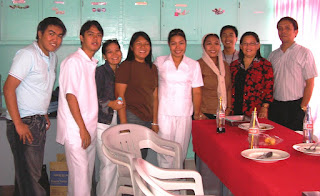 Some faculty members of Dr. Pedro Ocampo College Inc.