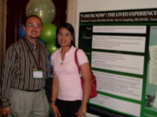 Dr. Locsin with Prof. Maela Babate