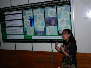 Dr. Caster Palaganas glancing on the works of Prof. Rozzano Locsin