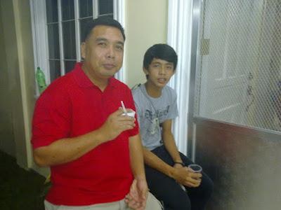 Francis Deposa and son
