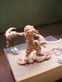 Orme Magiche Zidane Tribal Action Figure