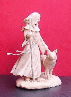 Orme Magiche statua Scultura San Francesco statuine pastori presepe artigianali pastorelli