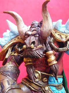 statuette world of warcraft tauren regalo compleanno personalizzato action figures orme magiche modellismo