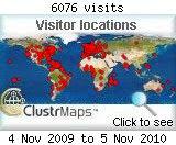 Du 4 novembre 2009 au 5 novembre 2010
