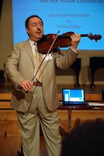 Csaba Erdélyi föreläser