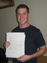 Cameron receives his mission call