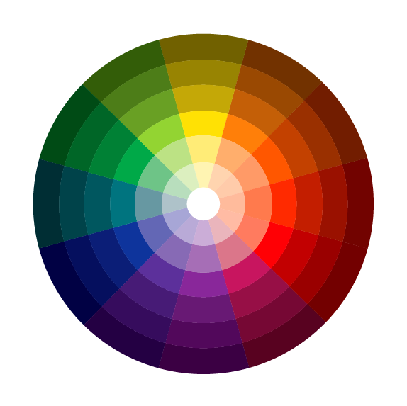 Itten color theory