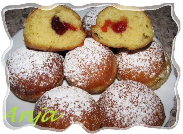 Рецепт приготовления пончиков с пошаговым