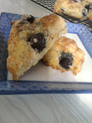 Lemon and Berry Scones