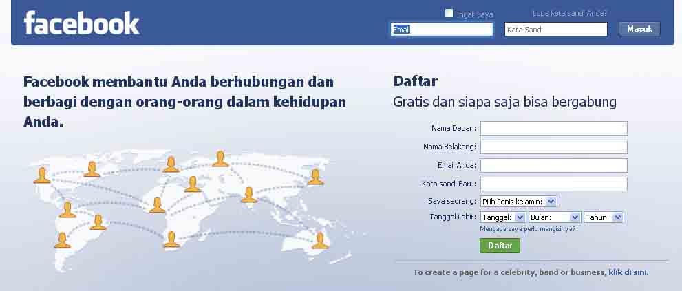 Cara daftar facebook cara ngehack facebook ini adalah blog pertamaku