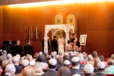 bride and groom unde chuppah at atlanta wedding photography