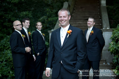 groom and groomsmen portraits wedding photos