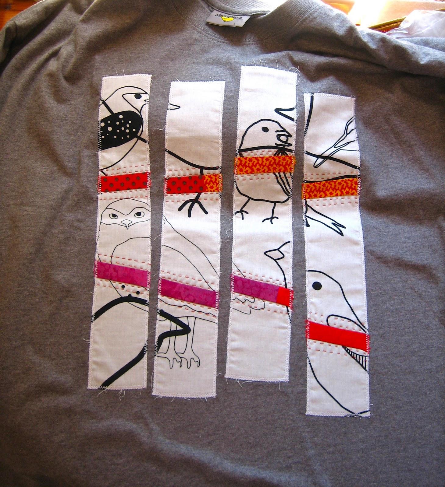 Un Nouveau T Shirt Mary Patch