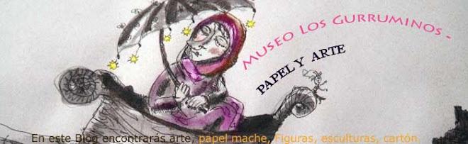 Papel mache Museo Los Gurruminos - ARTE (2)