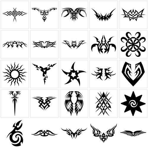 Simple Tribal Tattoo Designs