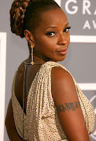 Mary J Blige Tattoo, Unique Celebrity Tattoo, Celebrity Tattoo, tattoo trend Celebrity, tattoo trend, tattoo trends, new tattoo trend design, tattoo trend design, tattoo inspiration
