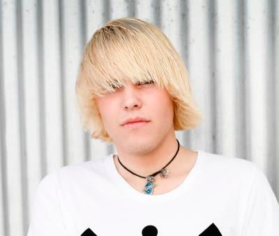Blonde emo haircuts?