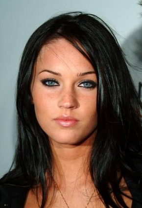 megan fox hair colour. 2010 megan fox hair color dye.