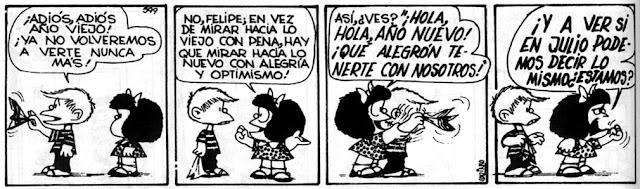 Mafalda y Felipe