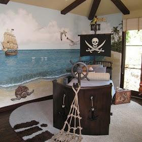 Dormitorios fotos de dormitorios im genes de habi - Cama barco pirata ...