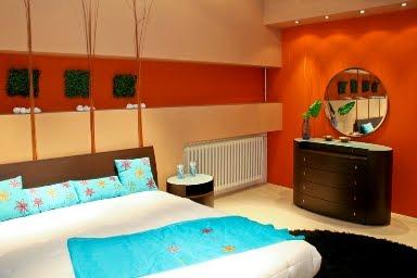 DORMITORIOS NARANJAS ORANGE BEDROOMS by dormitorios.blogspot.com