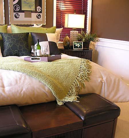 Cabecera en pie de cama - Baul para dormitorio ...
