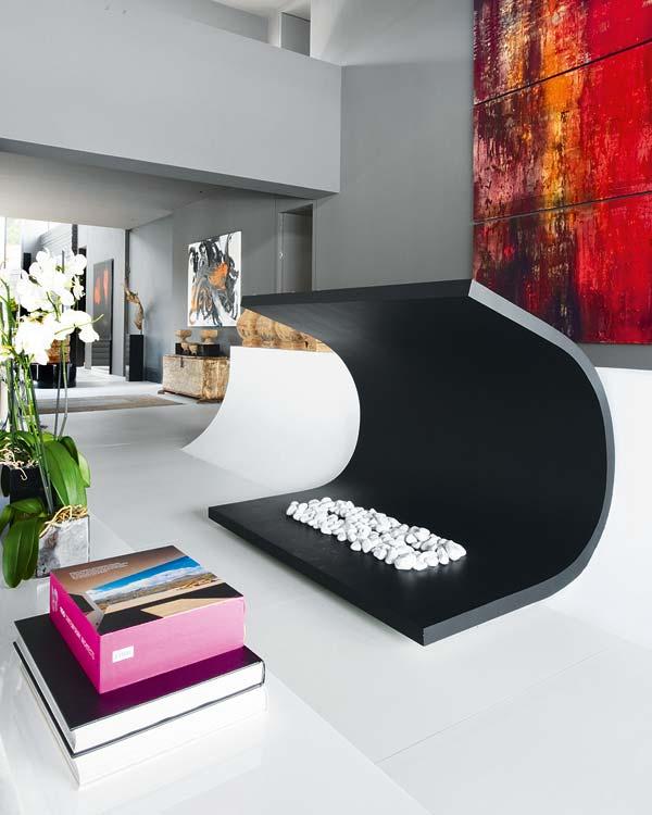 Ideas para salas muy grandes y amplios espacios de living for Adornos para el hogar modernos