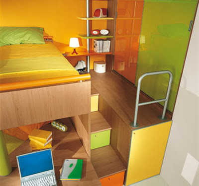 Recamaras juveniles con desnivel - Dormitorios originales juveniles ...