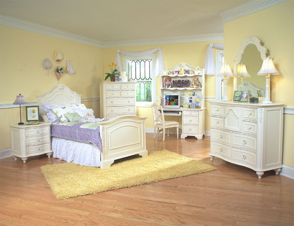 Dormitorio para niña estilo romantico y soñador