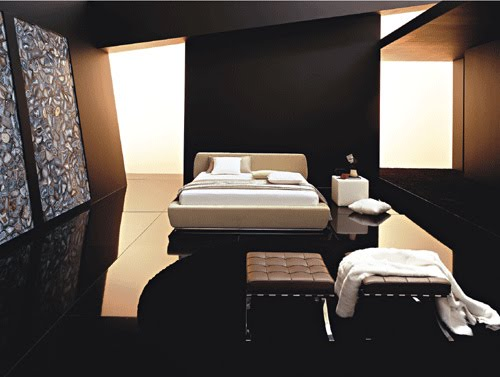 Black Bedroom Elegant and luxurious