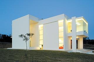 Arquitectura exterior vogue for Arquitectura minimalista casas