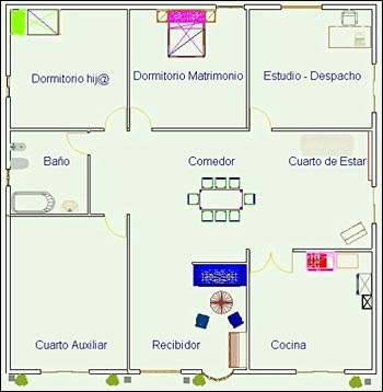 feng shui home design bedroom diagram - this is a photo only ...