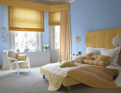 Q cortinas poner si tengo el cuarto de mi hijo pintado de for Cuarto xl mostaza