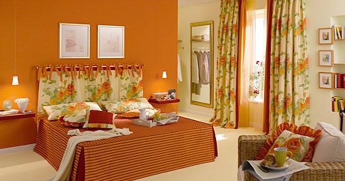 Dormitorio - Habitaciones color naranja ...