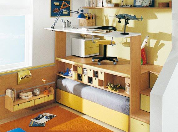 Camarotes con escritorio para jovenes imagui - Cama con escritorio abajo ...