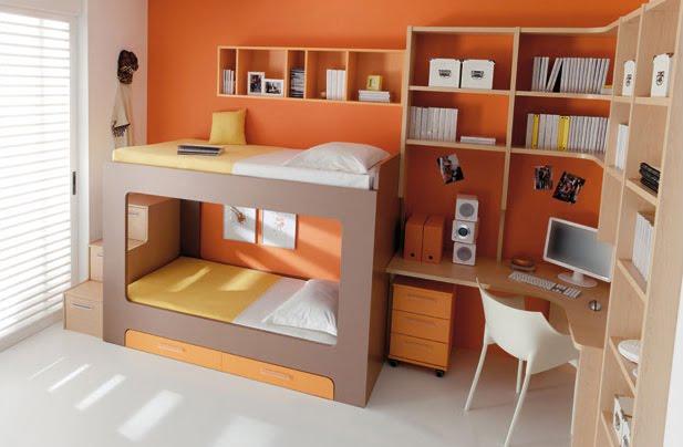 Muebles para dormitorios juveniles infantiles for Muebles para dormitorios pequenos juveniles