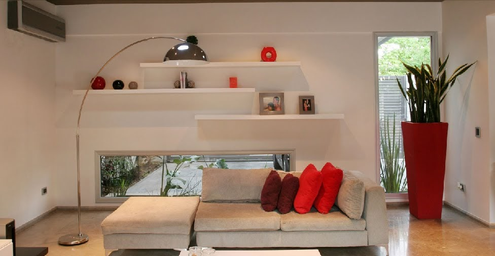 Sala que intregra el jardin y comedor de diario salas y - Juegos de decorar jardines ...