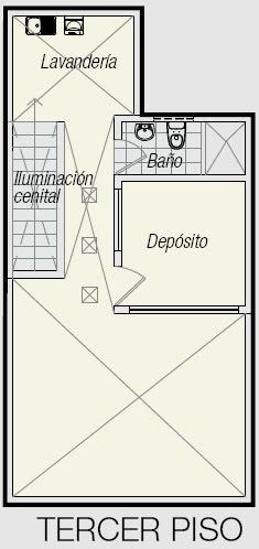 Planos De Triplex Planos De Minidepartamento De 3 Pisos En 50m2 Planos De Casas Gratis Y