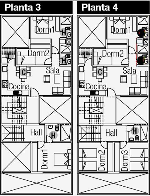 Planos de casas gratis y departamentos en venta august 2010 for Planos de casas 8x15
