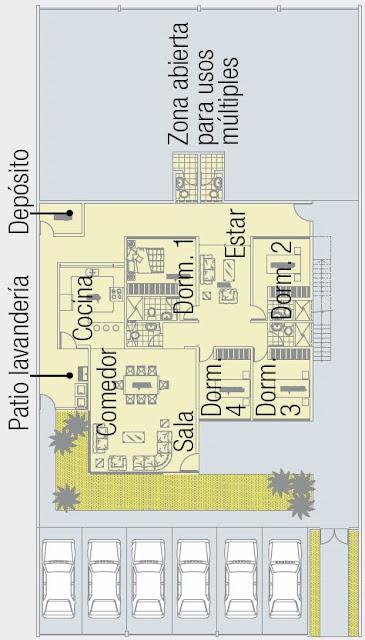 Planos de casa 630m2
