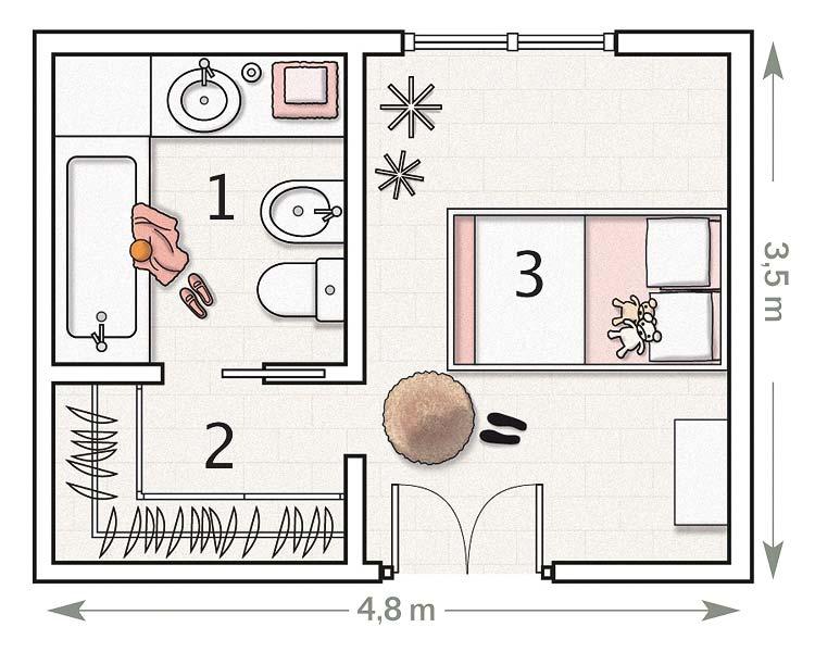planos de dormitorios