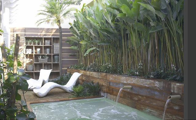 Terrazas exoticas terrazas y jardines fotos de jardines for Decoracion de patios con piedras y plantas
