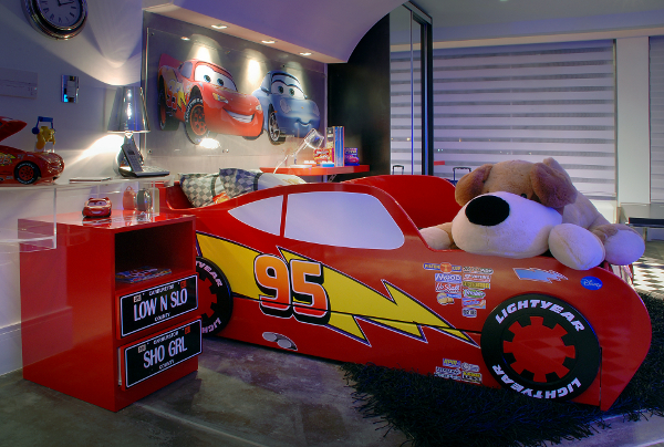 DORMITORIO DE RAYO MCQUEEN DE CARS O MCQUEEN KIDS BEDROOM by