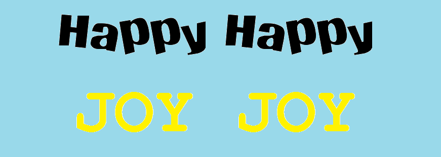 Happy-happy Joy-joy