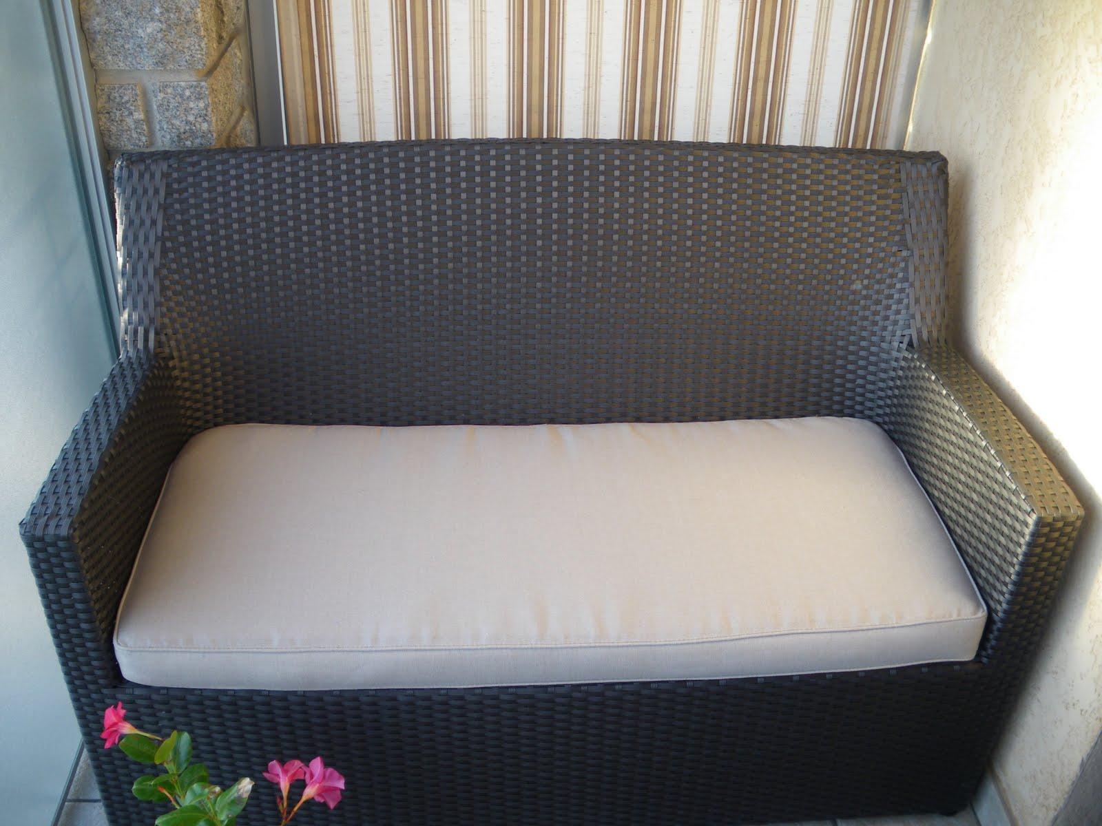 Table Salon De Jardin En Resine : mètres de tissus d indigotex et 5 heures de