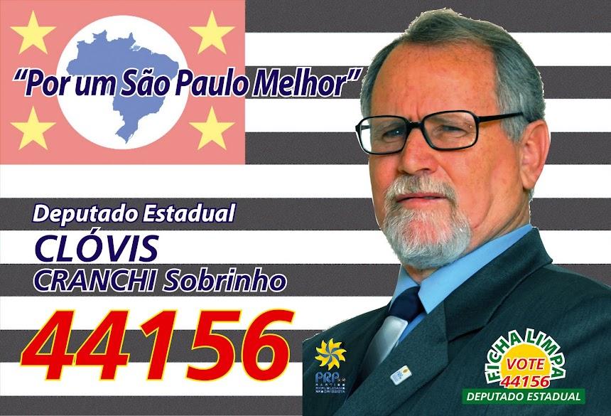 VOTE 44156 Clóvis Cranchi Sobrinho Deputado Estadual