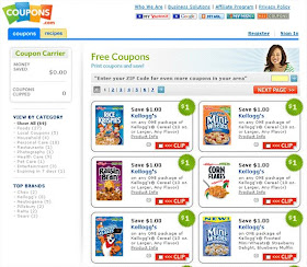 Fresh Easy Buzz Online Grocery Coupon Use Soaring Coupons Com Reports Whopping 192 Increase 57 Million In Value Of Coupons Printed In March 2009 Over March 2008