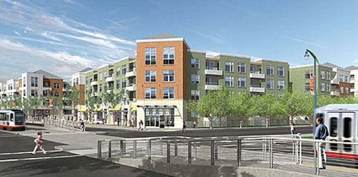 First Phase Of Fresh Amp Easy Neighborhood Market Anchored Condo Development In San Francisco S